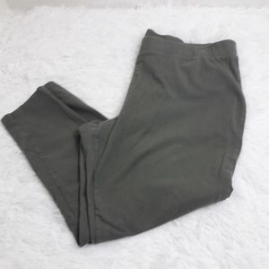 Torrid SZ 4 Khaki Leggings Stretch Comfortable
